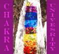 The chakra world tree as seen in a painted expression.