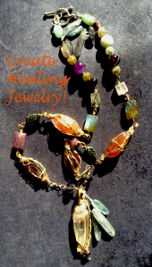 Learn how to create healing jewelry for dealing with anger.